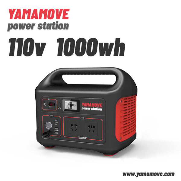 YAMAMOVE Power Station Explorer 240, 1000Wh Backup Lithium Battery, 110V/1000W Pure Sine Wave AC Outlet, Solar Generator (Solar Panel Not Included) for Outdoors Camping Travel Hunting Emergency