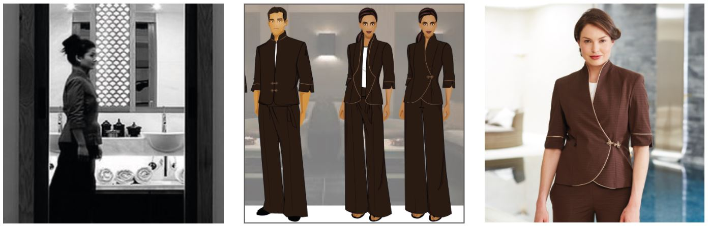 Le Spa Aman Fashionizer Spa Uniforms