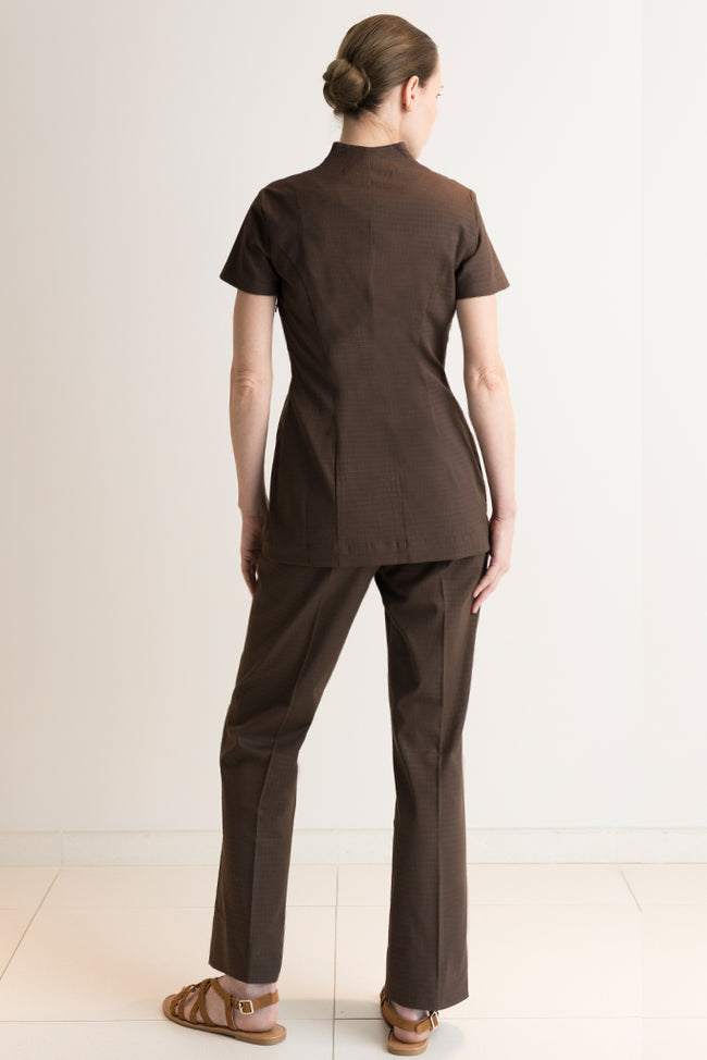Femme Pantalon Spa Marron - Fashionizer Spa France
