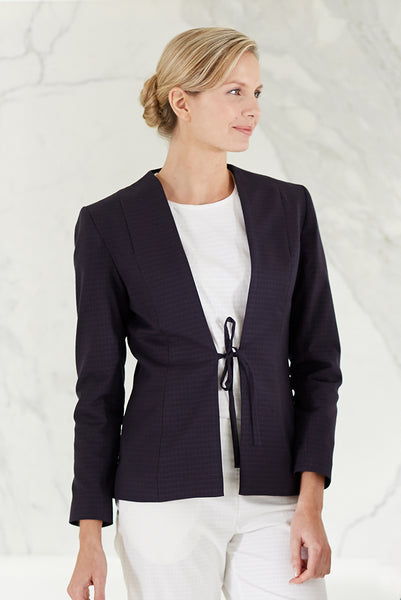Veste Femme Spa Bleu Marine - Fashionizer Spa France