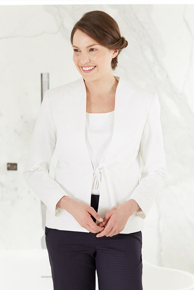 Veste Femme Spa Blanche - Fashionizer Spa France