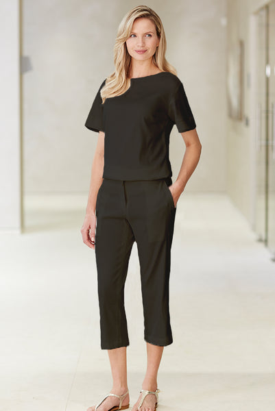Femme Pantalon Spa Noir - Fashionizer Spa France