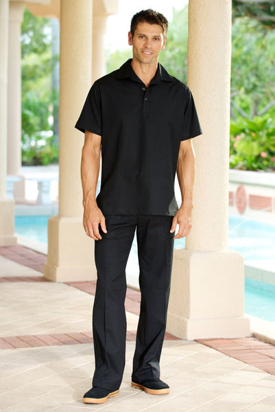 Homme Pantalon Spa Noir - Fashionizer Spa France