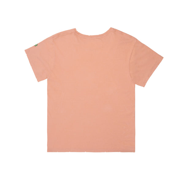 Peace on Earth Women's Tee (Spice Coral)