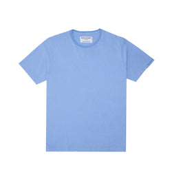 """Blue"" Slogan Tee (Chambray)"