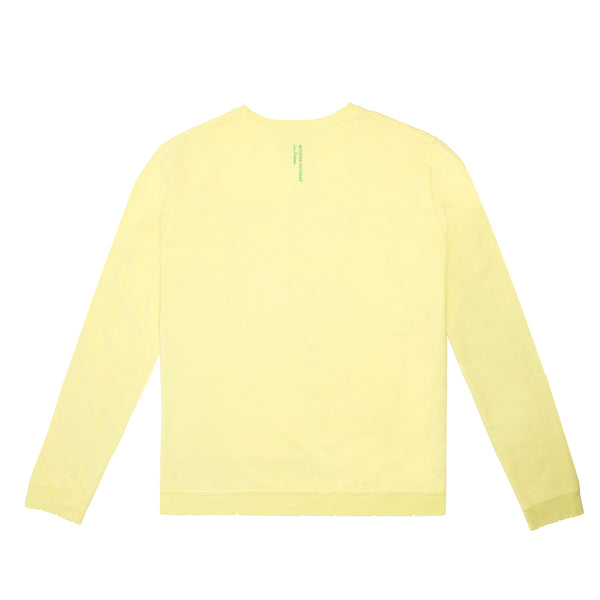 Outsider for Now Sweatshirt (Pale Yellow)