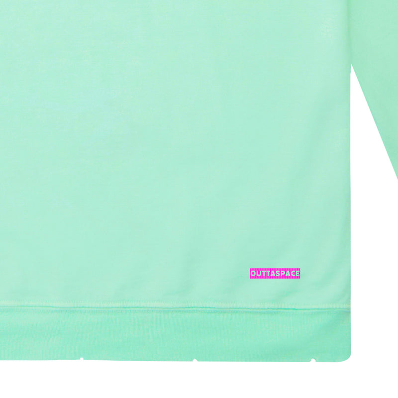 Outtaspace Sweatshirt (Pale Mint)