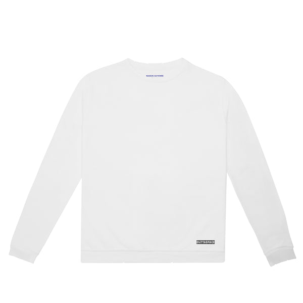 Outtaspace Sweatshirt(White)