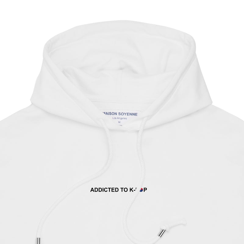 Addicted to K-Pop Hoodie (White)