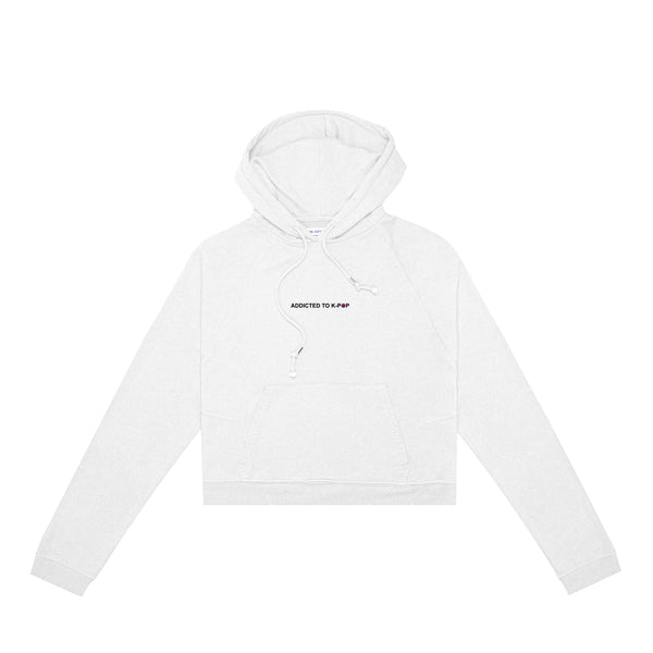 Addicted to K-Pop Women's Hoodie (White)
