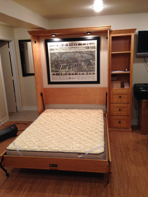 Vertical Tinley Park - Hide N Go Sleep Murphy Beds