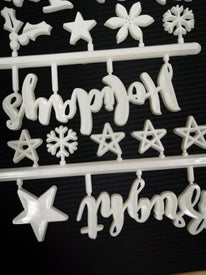 Christmas Icon Set For Changeable Letter Boards - 55 Christmas Icons and Words