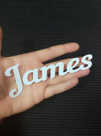 Custom Words Custom Font Number 9 - Letter Board Accessories
