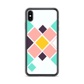 iPhone Colorful Squares Case, Premium Quality Case, iPhone Colorful Squares Cover, iPhone Custom Design, iPhone 11 Pro Max, iPhone XS Max