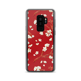 Samsung Red Forest Case, Premium Quality Case, Samsung Red Forest Cover, Samsung Custom Design, Samsung Galaxy S10+, Samsung Galaxy S9