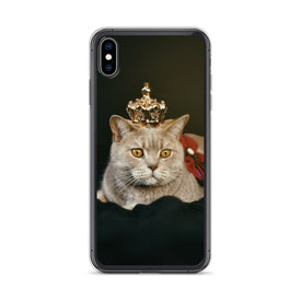 iPhone Crown Kitty Case, Premium Quality Case, iPhone Crown Kitty Cover, iPhone Custom Design, iPhone 11 Pro Max, iPhone XS Max, iPhone