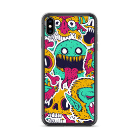 iPhone Monsters Case, Premium Quality Case, iPhone Monsters Cover, iPhone Custom Design, iPhone 11 Pro Max, iPhone XS Max, iPhone 7/8 Plu