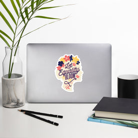 Equality Sticker Stickers, Equality Decal,No Discrimination Cute Stickers, Laptop Decal, Laptop Sticker Stickers, Macbook Decal, Vinyl Decal