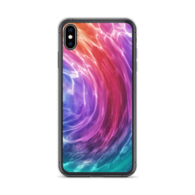 iPhone Rainbow Wave Case, Premium Quality Case, iPhone Rainbow Wave Cover, iPhone Custom Design, iPhone 11 Pro Max, iPhone XS Max, iPhone