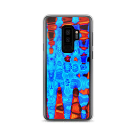 Samsung Frost and Fire Case, Premium Quality Case, Samsung Frost and Fire Cover, Samsung Custom Design, Samsung Galaxy S10+, Samsung Galaxy