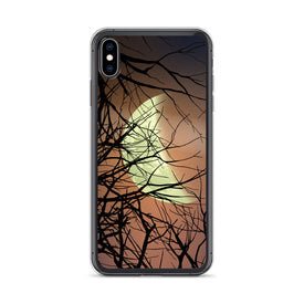 iPhone Moon and Branches Case, Premium Quality Case, iPhone Rainbow Cover, iPhone Custom Design, iPhone 11 Pro Max, iPhone XS Max