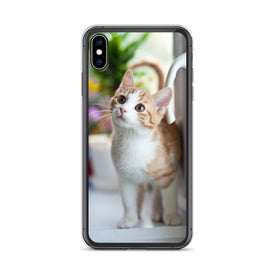 iPhone Cute Kitty Case, Premium Quality Case, iPhone Cute Kitty Cover, iPhone Custom Design, iPhone 11 Pro Max, iPhone XS Max, iPhone 7