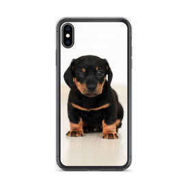 iPhone Cute Puppy Case, Premium Quality Case, iPhone Cute Puppy Cover, iPhone Custom Design, iPhone 11 Pro Max, iPhone XS Max, iPhone