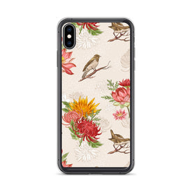 iPhone Birds and Flowers Case, Premium Quality Case, iPhone Birds and Flowers Cover, iPhone Custom Design, iPhone 11 Pro Max, iPhone XS