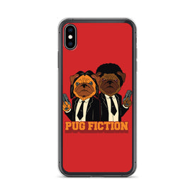 iPhone Pug Fiction Case, Premium Quality Case, iPhone  Pug Fiction Cover, iPhone Custom Design, iPhone 11 Pro Max, iPhone XS Max, iPhone