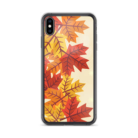 iPhone Maple Leaves Case, Premium Quality Case, iPhone Maple Leaves Cover, iPhone Custom Design, iPhone 11 Pro Max, iPhone XS Max