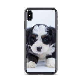iPhone Cute Puppy Case, Premium Quality Case, iPhone Cute Puppy Cover, iPhone Custom Design, iPhone 11 Pro Max, iPhone XS Max, iPhone 7/8