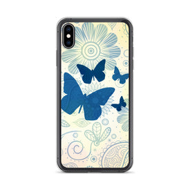 iPhone Butterflies Case, Premium Quality Case, iPhone Butterflies Cover, iPhone Custom Design, iPhone 11 Pro Max, iPhone XS Max, iPhone