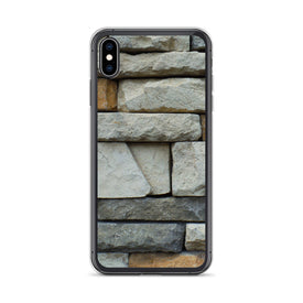 iPhone Stone Wall Case, Premium Quality Case, iPhone Stone Wall Cover, iPhone Custom Design, iPhone 11 Pro Max, iPhone XS Max, iPhone