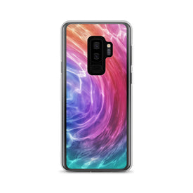 Samsung Colorful Wave, Premium Quality Case, Samsung Colorful Wave Cover, Samsung Custom Design, Samsung Galaxy S10+, Samsung Galaxy S9