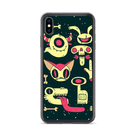 iPhone Zombie Monsters Case, Premium Quality Case, iPhone Zombie Cover, iPhone Custom Design, iPhone 11 Pro Max, iPhone XS Max, iPhone 7