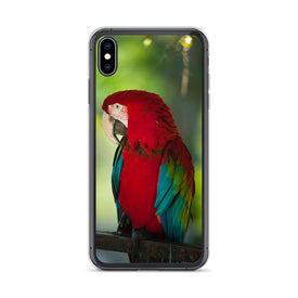 iPhone Macaw Parrot Case, Premium Quality Case, iPhone Macaw Parrot Cover, iPhone Custom Design, iPhone 11 Pro Max, iPhone XS Max, iPhone 7