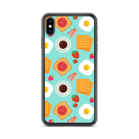 iPhone Breakfast Case, iPhone Pride Color Case, iPhone Breakfast Cover, iPhone Custom Design, iPhone 11 Pro Max, iPhone XS Max, iPhone 7/8