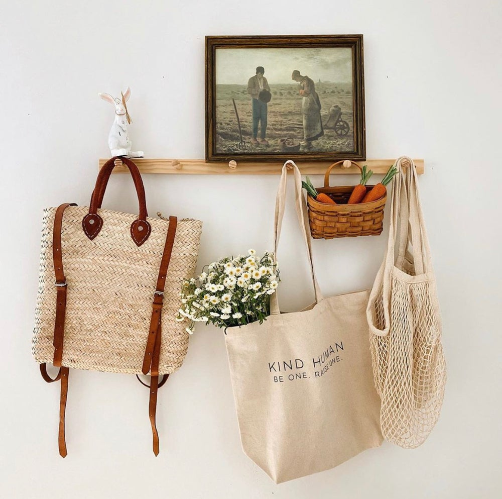 """Kind Human"" Canvas Tote"