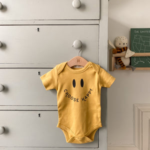 """Choose Happy"" Onesie"