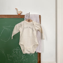 "Load image into Gallery viewer, ""Little Goose"" Long-Sleeve Onesie"