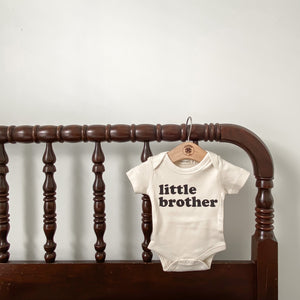 """Little Brother"" Onesie"