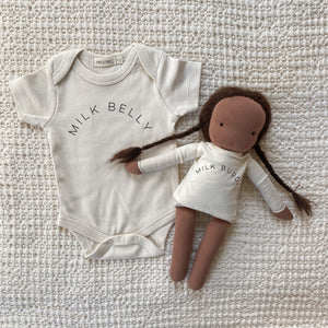 """Milk Buddy"" Doll Tee"