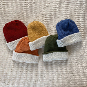 Reversible Knit Beanies