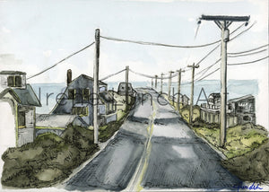 A Drive Down Route 6 -- Provincetown, MA