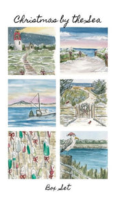 """Christmas By The Sea"" Holiday Card Box Set"