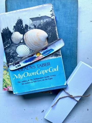 Cape Cod Sunset Razor Clam Bookmark