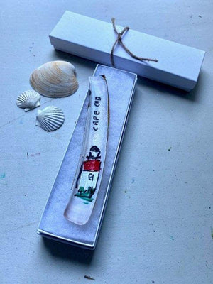 Lighthouse Razor Clam Bookmarks