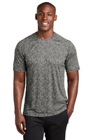 Digital camo sport Tek short sleeve performance tee