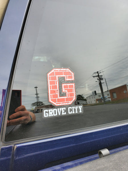 Grove City WIndow Cling