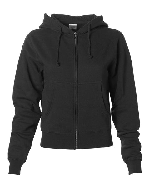 EMBROIDERED LADIES Full Zip Sweatshirt